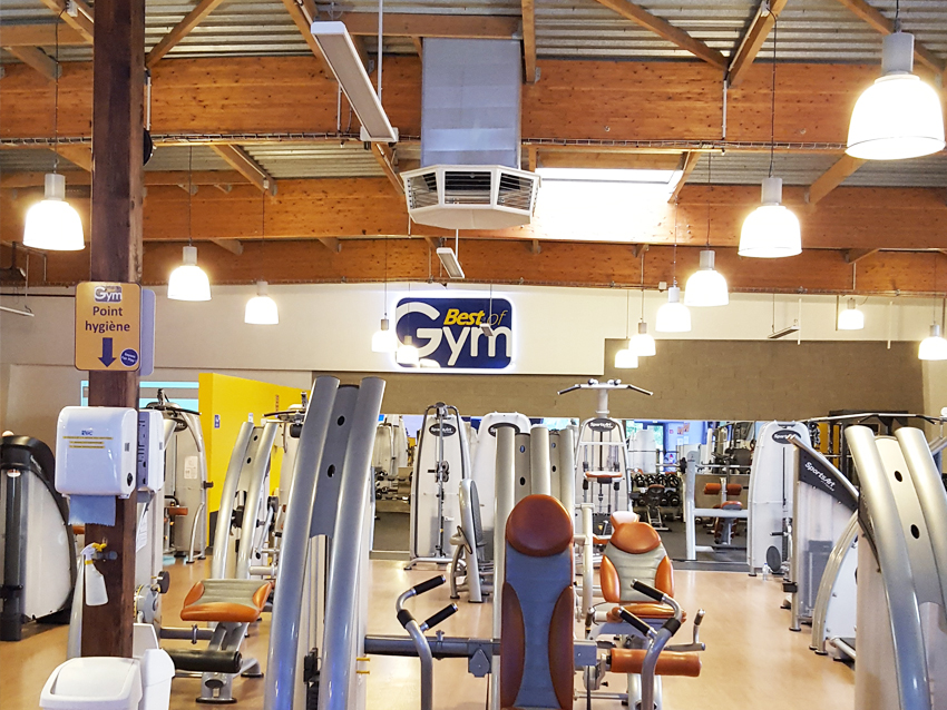Salle de sport Best of Gym à Rennes